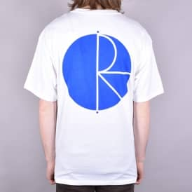 Fil Logo Skate T-Shirt - White/Blue