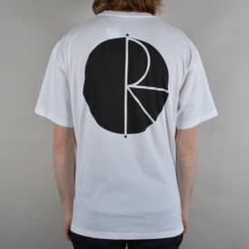 Fill Logo Skate T-Shirt - White
