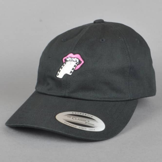 The Quiet Life Film Lips Dad Cap - Black