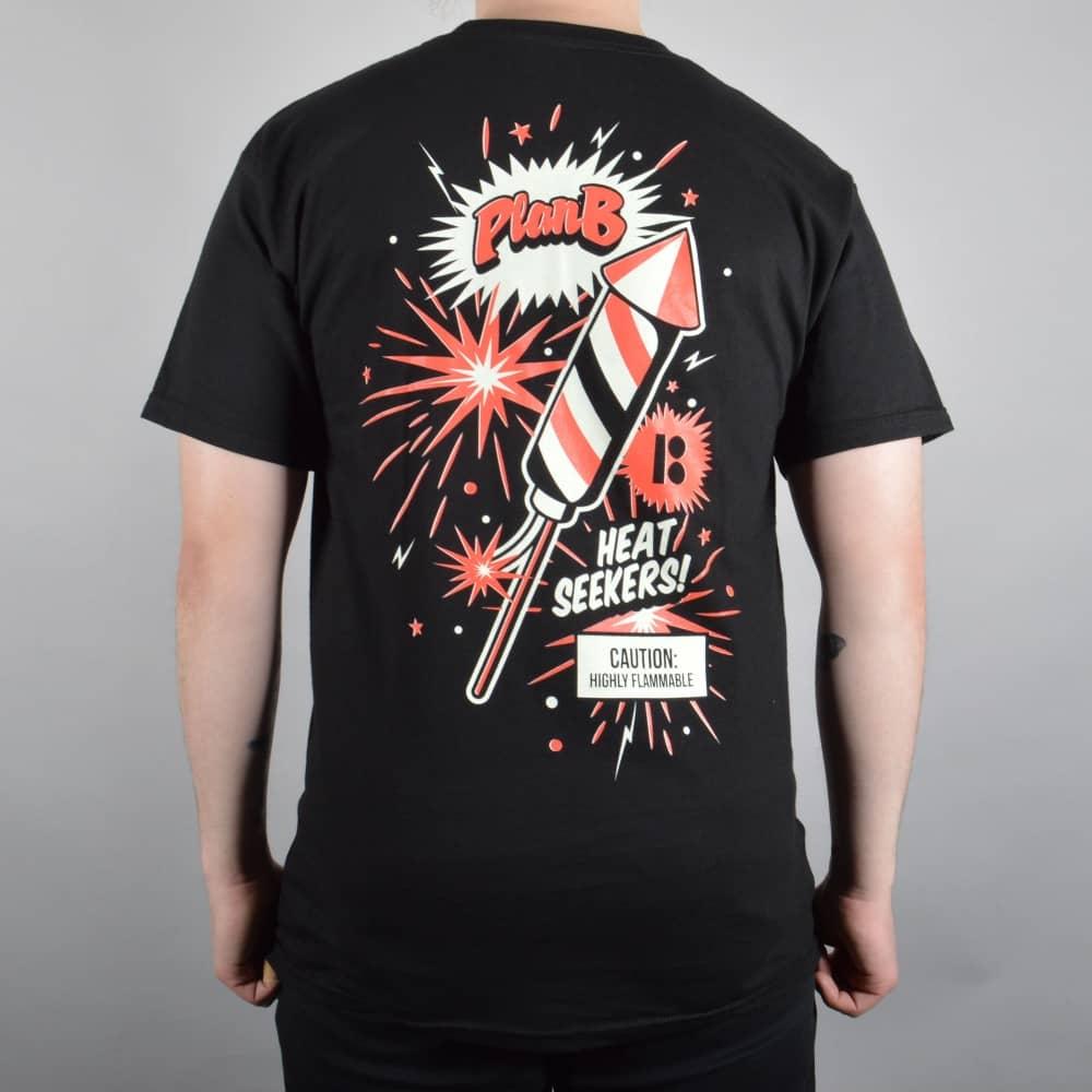Plan B Skateboards Fireworks Skate T-shirt - Black - SKATE ...
