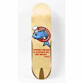 Fish Tails Chippy Skateboard Deck 8.5