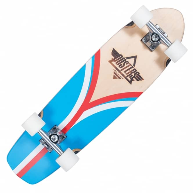 "Dusters Skateboards Flashback Cruiser Skateboard (8.25"" x 31"")"