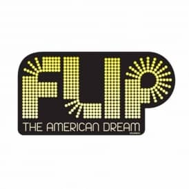 Flip American Dream Skateboard Sticker