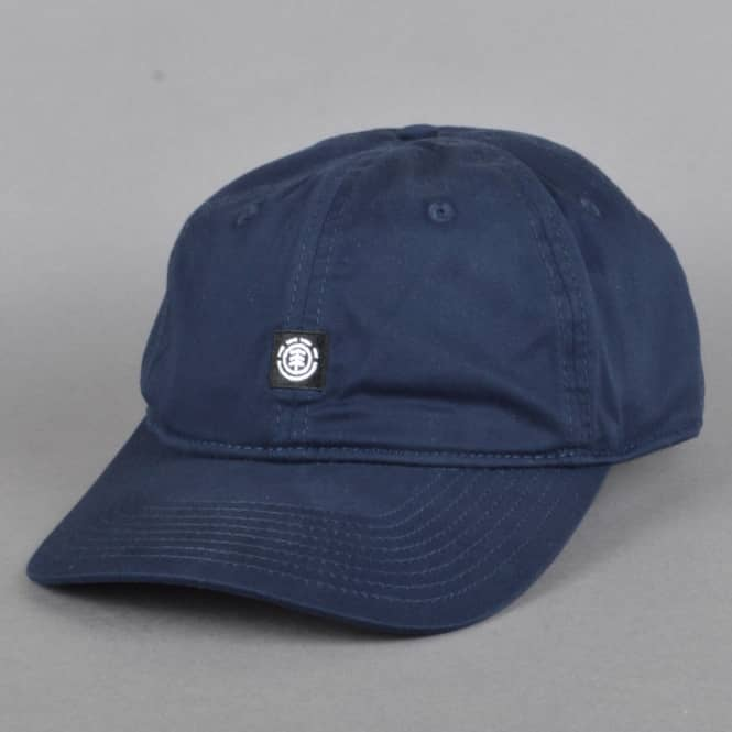 Element Skateboards Fluky Strapback Dad Cap - Navy