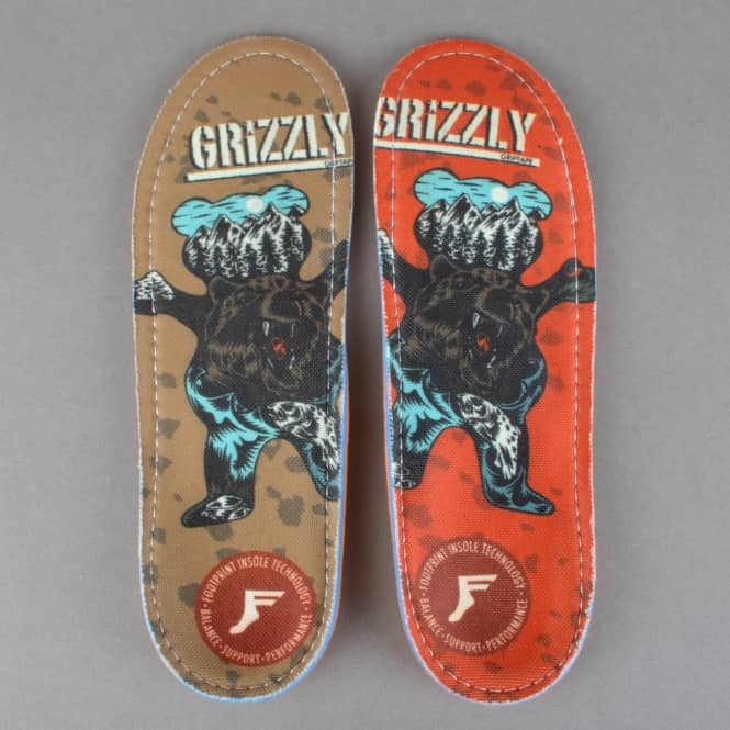 Footprint Insoles Grizzly Kingfoam Orthotics