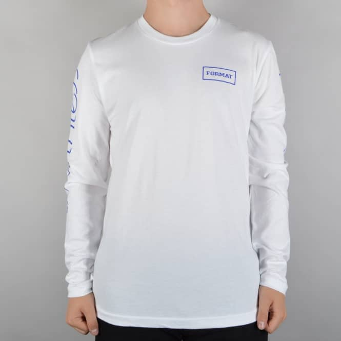 Format Systems Array Longsleeve T-Shirt - White