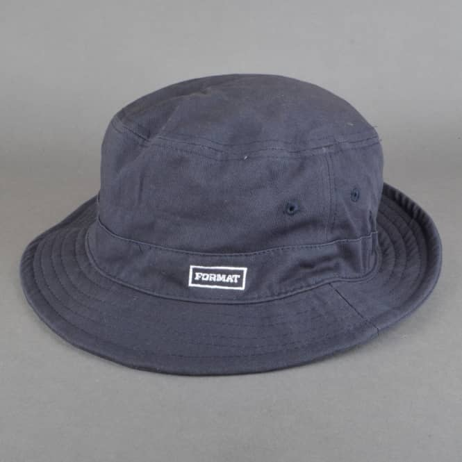 Format Systems Buck It Bucket Hat - Navy