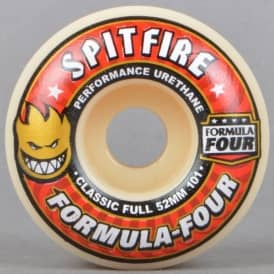 Formula Four 101D Classic Full Skateboard Wheels 52mm