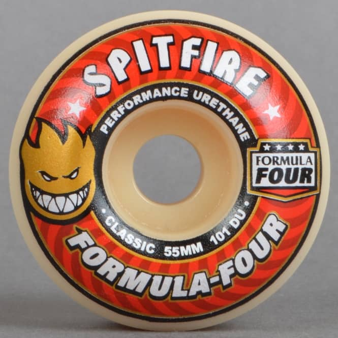 Spitfire Wheels Formula Four Classic 101D Skateboard Wheels 55mm