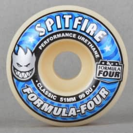 Formula Four Classic 99 Duro Skateboard Wheels 51mm