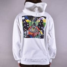 Fountain Pullover Hoodie - White