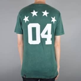 Fourstar Clothing Fourstar Athletic Mineral Skate T-Shirt - Green