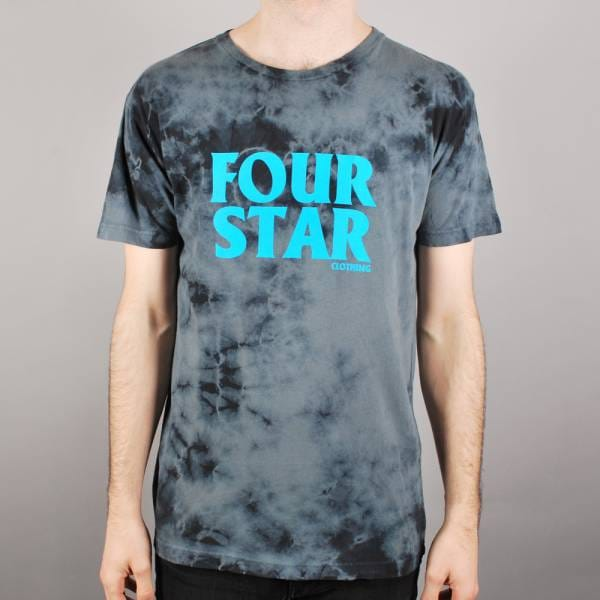 Fourstar clothing fourstar four hero tie dye skate t shirt for How to wash tie dye shirt after dying