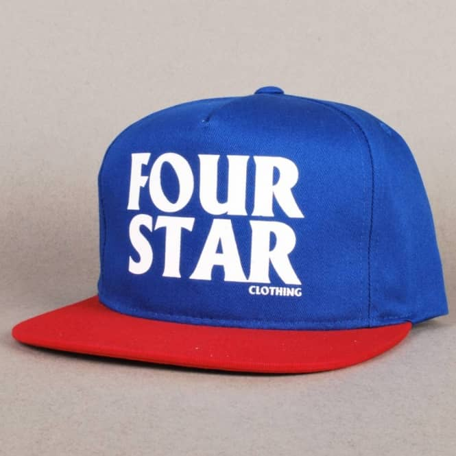 Fourstar Clothing Fourstar Gas Station Snapback Cap - Royal Blue