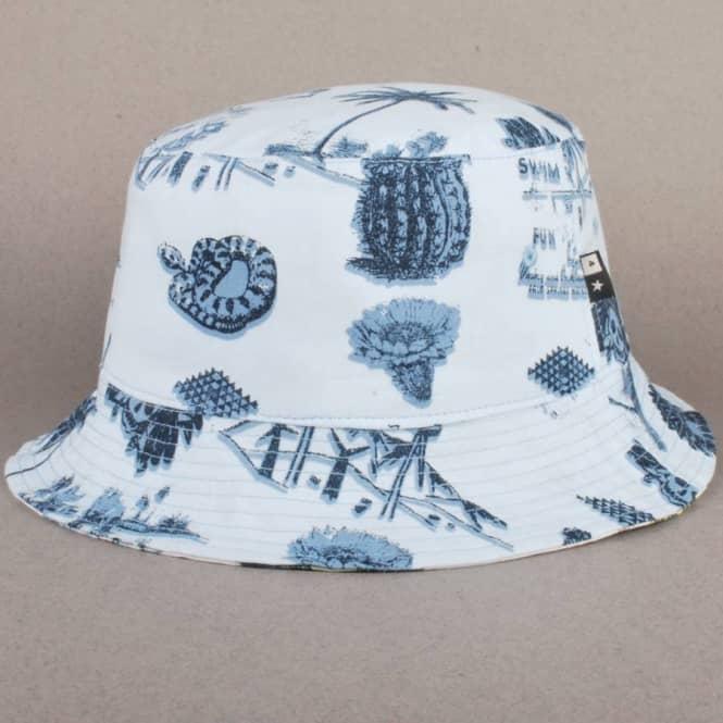 ac6bd50f9c7 Fourstar Clothing Fourstar Koston Reversible Bucket Hat - White ...