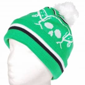 Fourstar Clothing Fourstar Pirate Chain Pom Pom Beanie - Kelly Green