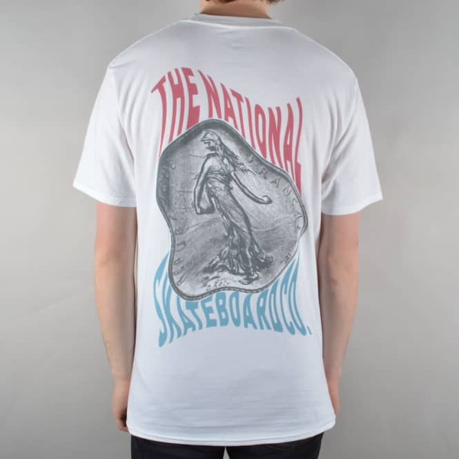 The National Skateboard Co. Franc Skate T-Shirt - White