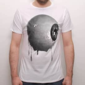 Friend Or Foe Eye On You Skate T-Shirt White
