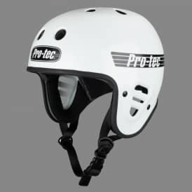 Full Cut Certified Skate Helmet - Gloss White