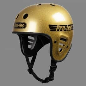 Full Cut Certified Skate Helmet - Gold Flake