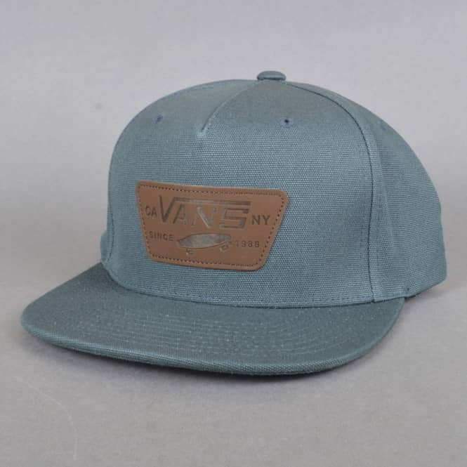 Vans Full Patch Starter Snapback Cap - Dark Slate