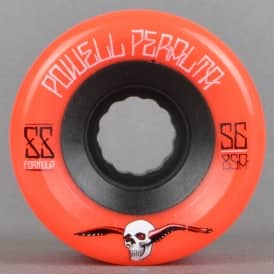G-Slides Red 85A Duro Skateboard Wheels 56mm