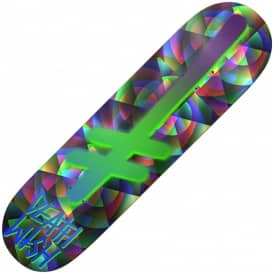 Deathwish Skateboards Gang Logo Kaleidoscope Skateboard Deck 8.125""