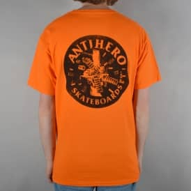 German Engineering Skate T-Shirt - Orange