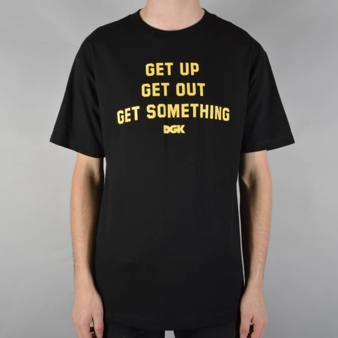DGK Get Something Skate T-Shirt - Black