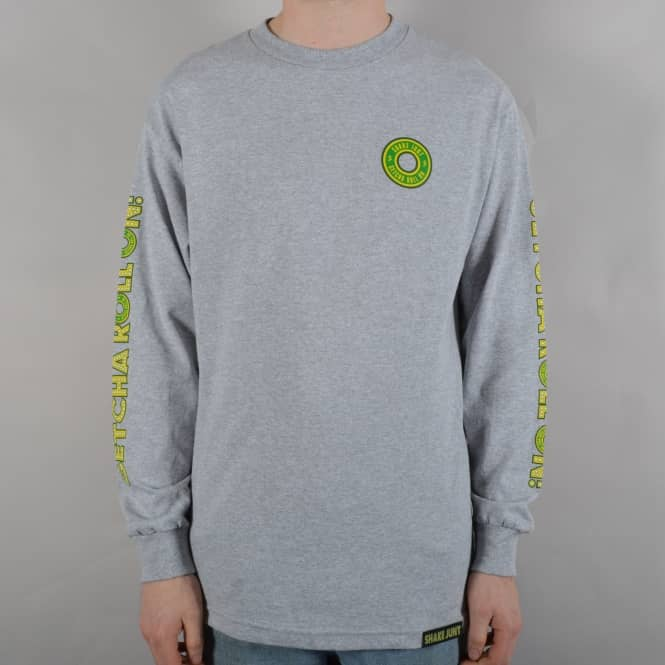 Shake Junt Getcha Roll On Longsleeve T-Shirt - Grey