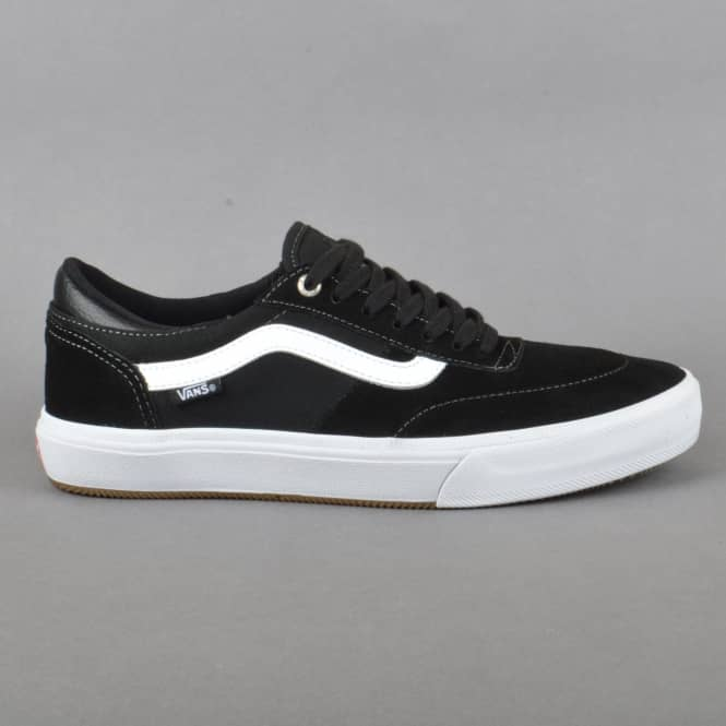 Vans Gilbert Crockett Pro 2 Skate Shoes - Black/White