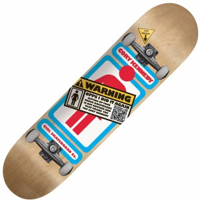 d95a7557abee Girl Skateboards Girl Cory Kennedy Backwards Skateboard Deck 8.0 ...