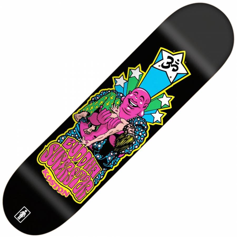 Girl Skateboards Girl Eric Koston Blacklight Skateboard ...