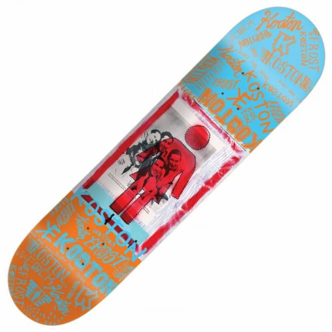 Girl Skateboards Girl Eric Koston Recovery Skateboard Deck ...