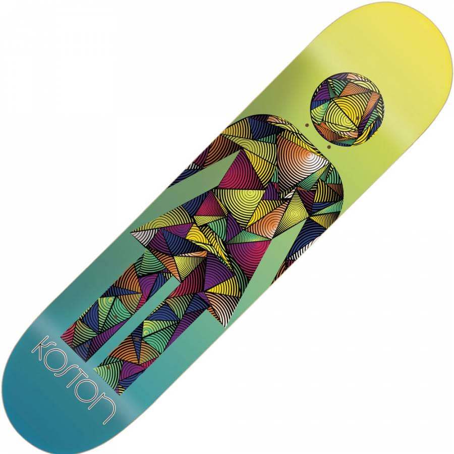 Girl Skateboards Girl Eric Koston Spinout Deck 8.125 ...