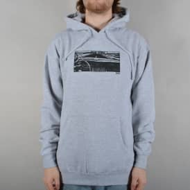 Girl In The Car Pullover Hoodie - Heather Grey