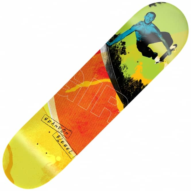 Girl Skateboards 20/20 Brandon Biebel Skateboard Deck 8""