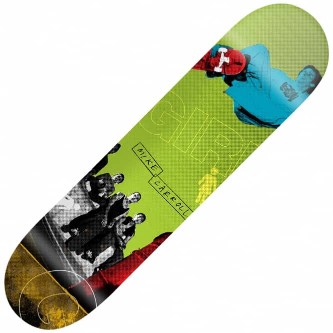Girl Skateboards 20/20 Mike Carroll Skateboard Deck 8.125""