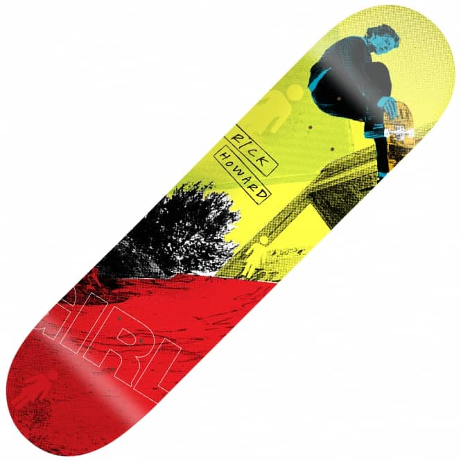 Girl Skateboards 20/20 Rick Howard Skateboard Deck 8.5""