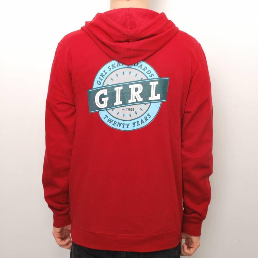 Girl skateboards hoodie