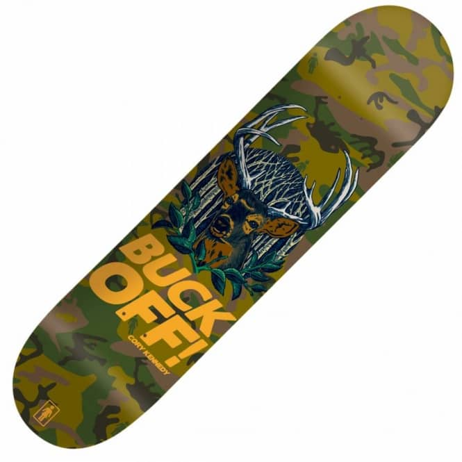Girl Skateboards Girl Cory Kennedy Buck Off Skateboard Deck 8.0''