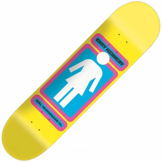 9f6344a092d1 Girl Skateboards Girl Cory Kennedy Neon OG Skateboard Deck ...