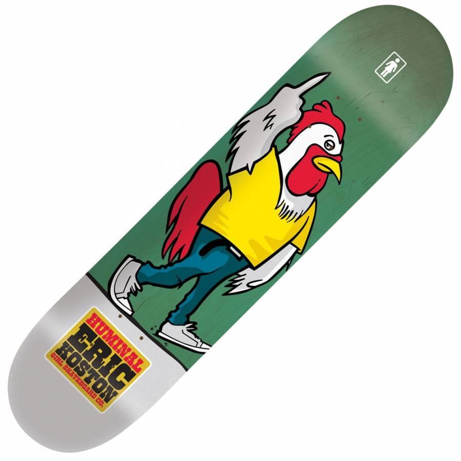 Girl Skateboards Girl Eric Koston Huminal Skateboard Deck ...