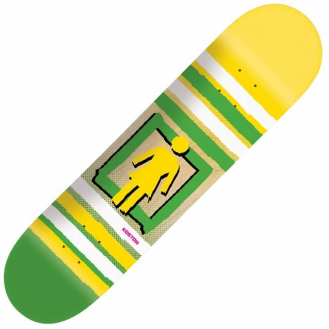 Girl Skateboards Girl Eric Koston Out of the Box Pop Secret Skateboard Deck 8.25''