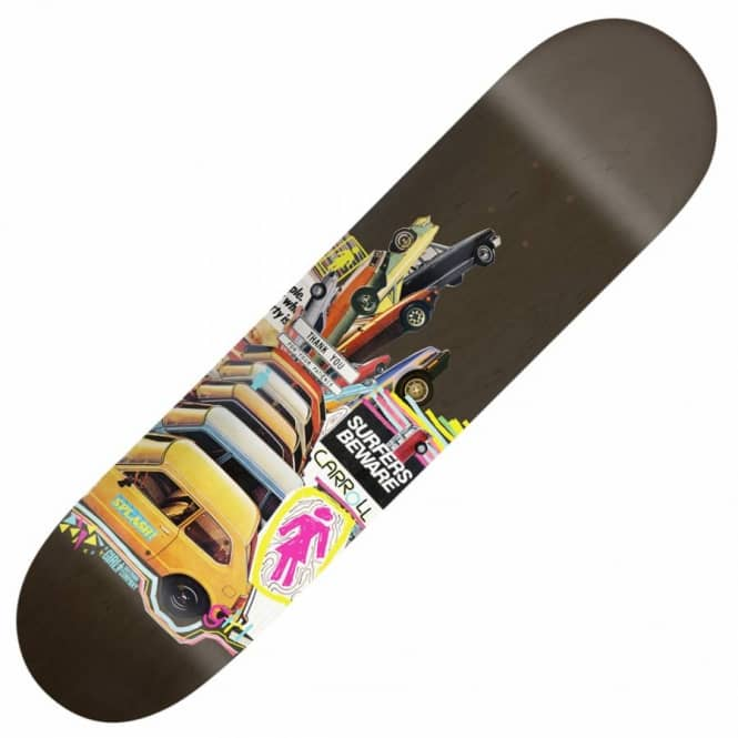 Girl Skateboards Girl Mike Carroll Mish Mosh Skateboard Deck 8.125''