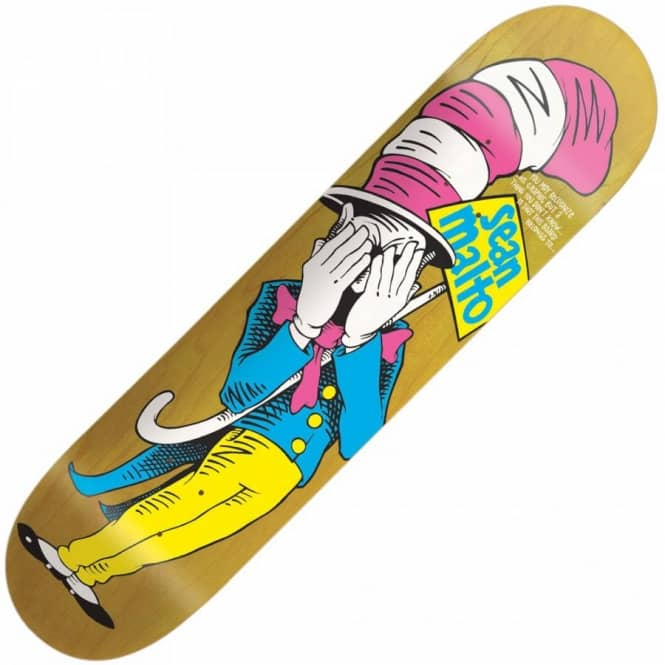 Girl skateboards girl sean malto in the hat deck 8125 skateboard girl sean malto in the hat deck 8125quot voltagebd Image collections