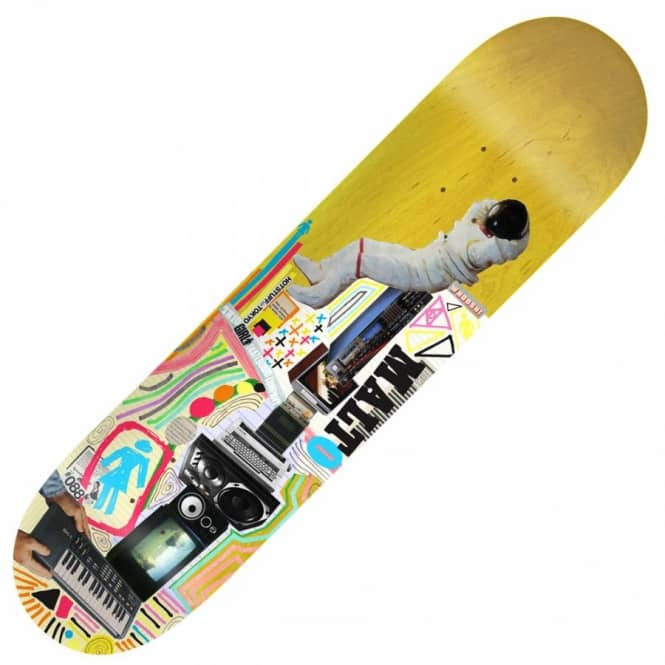 Girl Skateboards Girl Sean Malto Mish Mosh Skateboard Deck 8.125''
