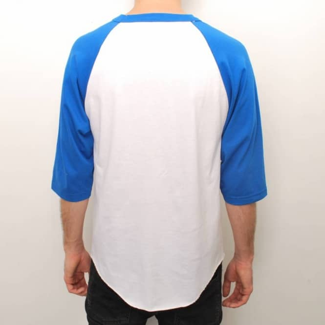 93a48bb466f3 Achat white t shirt with blue sleeves - 62% OFF! - www.joyet ...