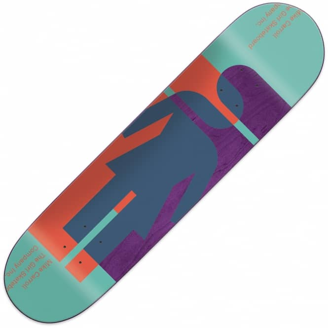Girl Skateboards Hardcourt Mike Carroll Skateboard Deck 8.125""