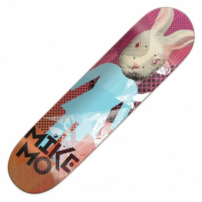 Girl Skateboards Mike Mo Candy Flip Skateboard Deck 7.75""